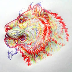 Rainbow Big Kitty Kaboom by VorpalBeasta