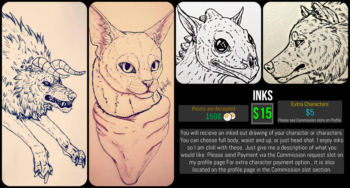 *Open* Inks Commission Sheet by VorpalBeasta