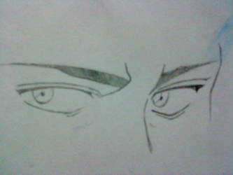 Guy anime eyes by Annisa-Rae
