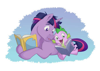 Reading Time by Stratus35