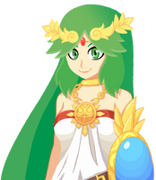 Palutena by KyzaCreations