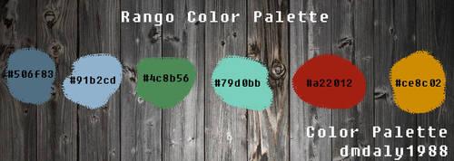 Rango Color Palette by dmdaly1988
