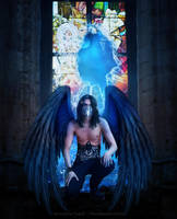 Open Your Wings, Evil Angel by IAmInsaneNoImNot