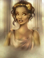 Greek Goddess by JustNeus