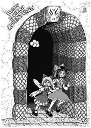 Reimu N Cirno Adventures by dinjerr