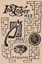 Inktober2015 Cover by dinjerr