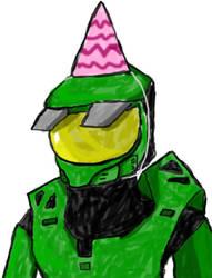 Birthday Chief by kairyuu