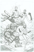 Fantastic Four by seanforney