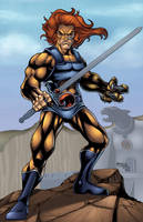 Lion-o colors by seanforney