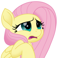 Scared Fluttershy vector by EJLightning007arts