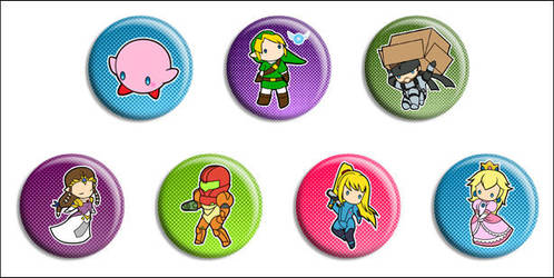 SSBB Buttons by Maxx-V