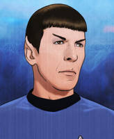 Outsiders - Spock by CravenLunatic