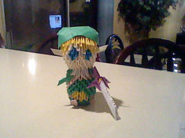 Origami Link by ConsilMoon