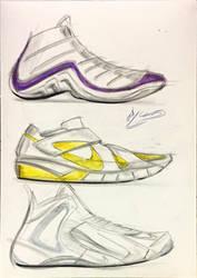 shoe sketches by icanerdincmer