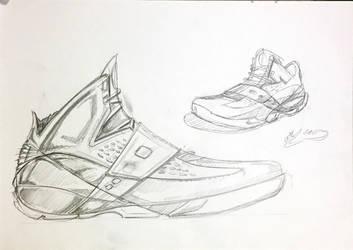 air jordan sketches by icanerdincmer