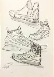 basketball shoe sketches by icanerdincmer