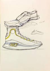 shoe sketches no.16226623 by icanerdincmer