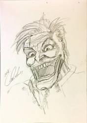 Joker the man who laughs! by icanerdincmer
