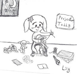 Sew Late at Night by TrellyNorn