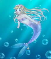 Mermaid Butterfly by ScruffyPoop