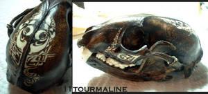 SALE: Tribal raccoon by tourmaline-83