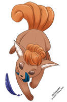 Vulpix - Take 1 by shivaesyke