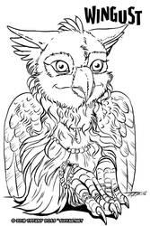 wingust 13 - Portrait by shivaesyke