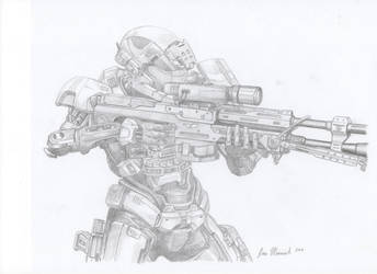 Spartan sniper by philorion7