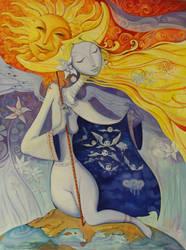 The Host Of Seraphim by borda