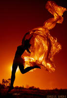 My Dancing Sunflame by borda