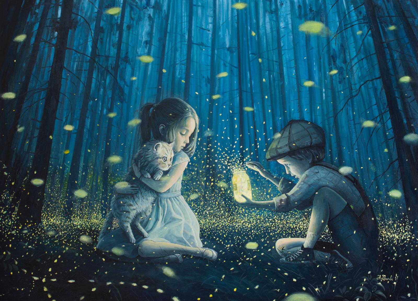 The Magic Lantern by borda