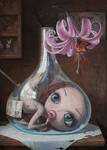 Love Slowly Kills VII - oil painting by borda