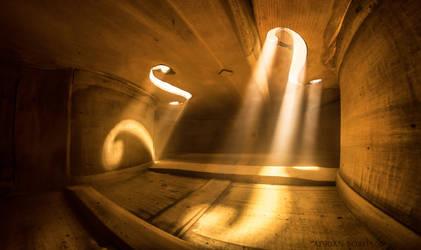 Inside Violin XI by borda