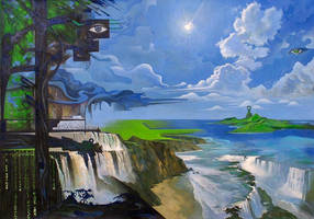 The Waterfall Poetry by borda