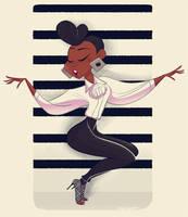 Janelle Monae- QUEEN by NickSwift