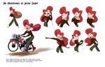 The Adeventures of Jackie Sharp - Jackie Sharp 2 by NickSwift