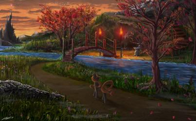 nameless landscape by Vladimir-Olegovych