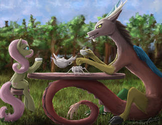 tea time by Vladimir-Olegovych