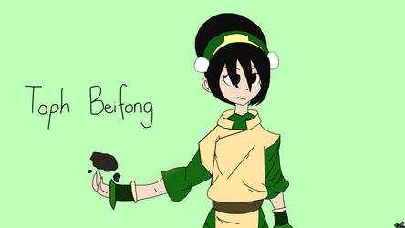 Toph Beifong (No shading) by DoodleCreeper