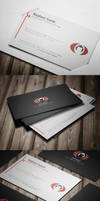 Modern Corporate Business Card by calwincalwin