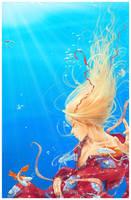 Drowning, peacefully... by Solkeera