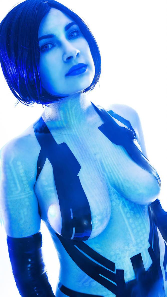 cleavage Sideboobs Cortana Blue naked photo 2017