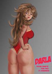 Darla fanart by eldavid99
