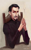 Portrait of Vetinari by ZarKir