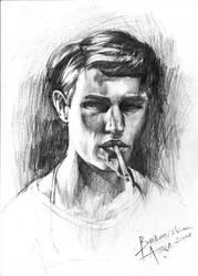Portrait by aniabuk