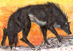Weary Hunter by Jarahamee
