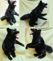 Black Werewolf 4 by Jarahamee