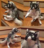 Halloween Werewolf 2 Soft Sculpture by Jarahamee