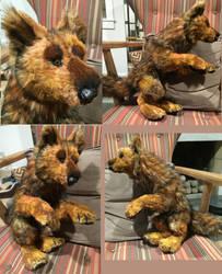 Werewolf Commission by Jarahamee