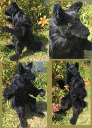 Black Werewolf 3 by Jarahamee
